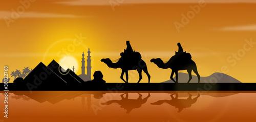 Fototapeten,pyramiden,agressivität,skyline,silhouette