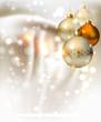 elegant glimmered Christmas background