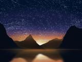 Fototapeta chmura - zachmurzony - Dziki pejzaż