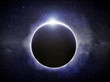 Leinwandbild Motiv Eclipse illustration