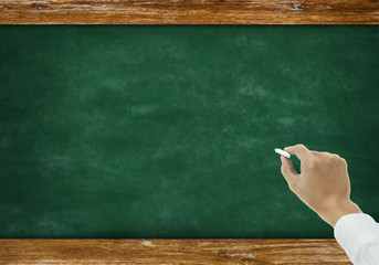 chalkboard with copyspace