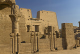 General view of the temple of Horus (Edfu, Egypt)