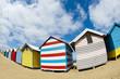 Cabanes de plage colorées - Brighton beach - Melbourne