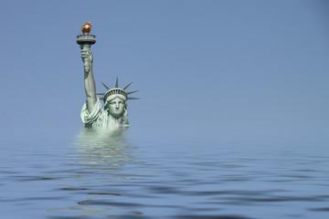 New York - 013 - Freiheitsstatue - UW quer