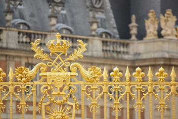 Cancellata dorata della reggia di Versailles