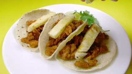 Mexican Taco al Pastor Seasoning With Lemon