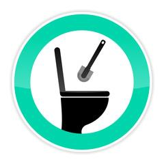 symbol toilette reinigen III