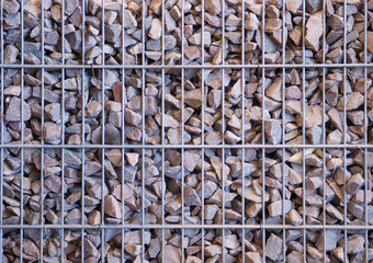 gabion from the rubble