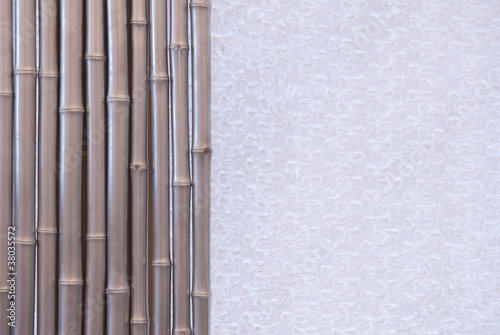 background of gray bamboo