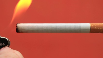 Flame Zigarette / Full HD VIDEO
