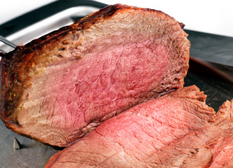 Succulent Roast joint of beef