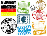 Stamps with Germany