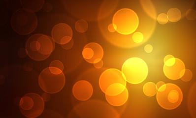 Bokeh Hintergrund - Gold Geld