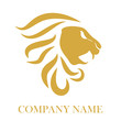 Logo Lion, strength and courage concept # Vector
