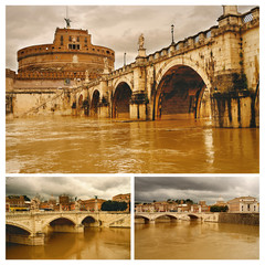 Rome. San Angelo bridge.