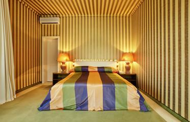 interior luxury apartment, comfortable bedroom, lounge