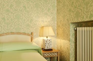 interior luxury apartment, comfortable bedroom