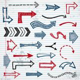 Sketchy arrows poster