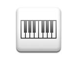 Boton cuadrado blanco teclado de piano