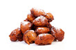 Pile of Dutch donut also known as oliebollen