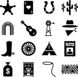 Far West pictograms