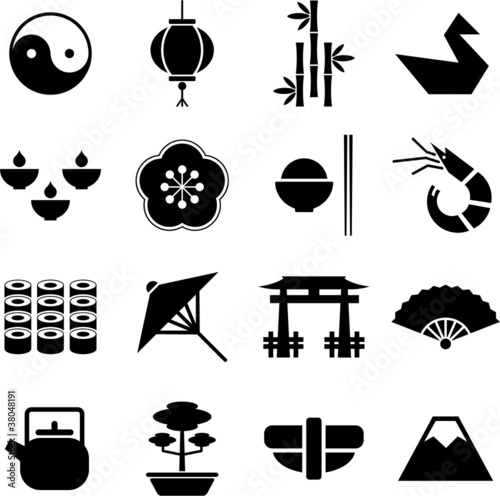 Japan pictograms