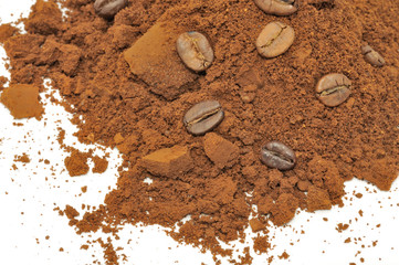 Ground Coffee and Coffee Beans