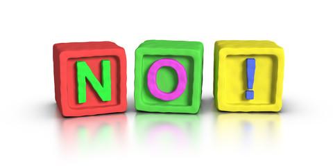 Play Blocks : NO !