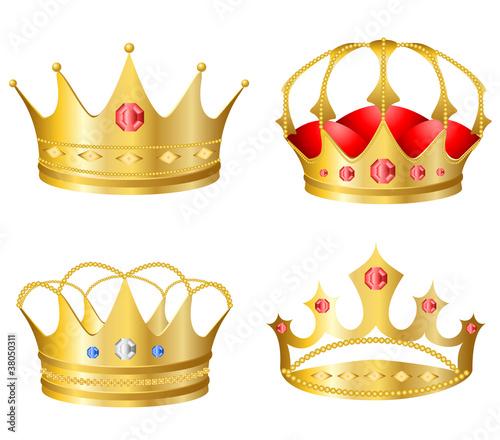 Realistic crown set
