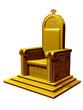 goldener Thron