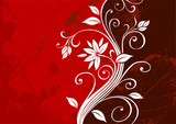 red vector & background