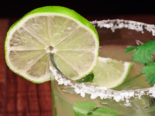 Salt Rim Margarita