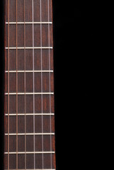 Classic Guitar (Spanish) freboard, black background.