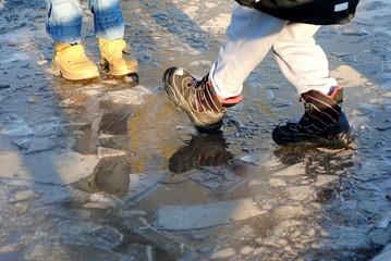 Eis  zerbrechen