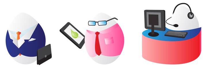 Business easter eggs