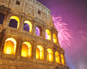 Firework at Colloseum 2012