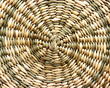 Light wicker background spiral round