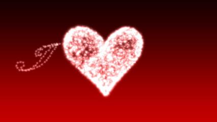 Sparkling Heart - Heart 28 (HD)