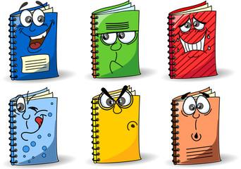 Ноутбуки мультфильм школы