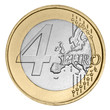 Four euro coin