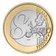 Eight euro coin