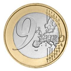 Nine  euro coin