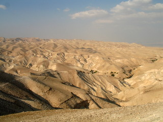 View on Judean desert, Israel