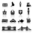 Icons set British Culture