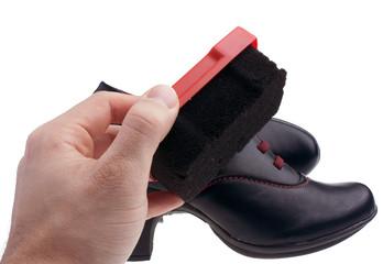 Lucidare scarpe