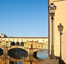Ponte Vecchio in Florenz, Italien - Florenz, Italien