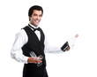 Waiter man.