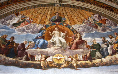 Art of Italy in Vatican