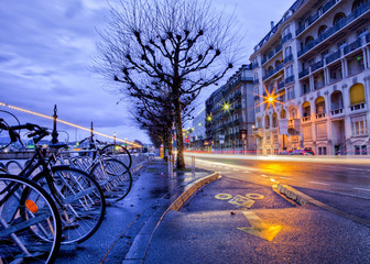 Cycling Lane, Geneva