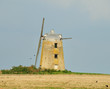 Abandoned Windmill in an English Landscape